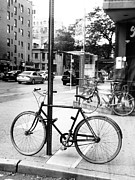 Robin Coaker - A bike in NYC