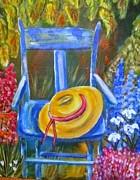 Belinda Lawson - A blue Chair