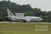 Featured Metal Prints - A Boeing E-7a Wedgetail Of The Royal Metal Print by Remo Guidi