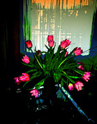 Metal Art Photography Posters - A Bouquet of Tulips for You Poster by Gerlinde Keating - Keating Associates Inc