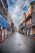 Streets Metal Prints - A Bourbon Morning Metal Print by Kay Pickens