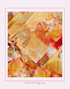 Abstract Digital Pastels Prints - A Breath of Spring Print by Gayle Odsather