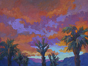 Brilliant Paintings - A Brilliant Sunrise by Diane McClary
