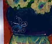 Anne-Elizabeth Whiteway - A Butterfly Dropped By