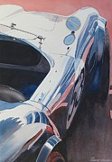 Automobilia Paintings - A C by Robert Hooper