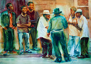 New Orleans Paintings - A Cappella by Jani Freimann