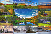 Farming Digital Art - A Celebration of Barns  by Steve Harrington