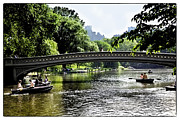 Rowers Art - A Central Park Day by Madeline Ellis