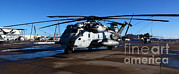 Featured Art - A Ch-53e Super Stallion Sits by Stocktrek Images