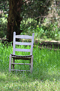 Lynn Jordan - A Chair in the Grass
