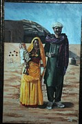 Abdul Wahab - A Cholistani couple
