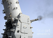 Featured Art - A Close-in Weapons System Fires by Stocktrek Images