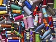 A Close View Of Threads Print by Bernard Jaubert