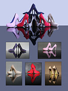 Terri Waters Framed Prints - A collection of stiletto shoes Framed Print by Terri  Waters