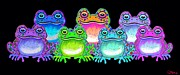 Nick Gustafson - A colorful collection of spotted frogs