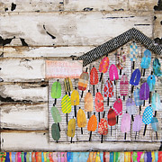 Shack Mixed Media - A Colorful Existence by Danny Phillips
