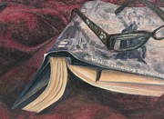 A Comfy Nook Print by Malinda  Prudhomme