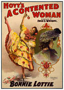 Stage Posters - A Contented Woman Poster by Terry Reynoldson