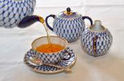Cup Of Tea Photos - A Cup of Tea by Louise Heusinkveld