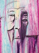 Philosophy Pastels Prints - A Dalai Lama Print by Quentin H Willis
