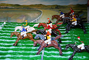 Rehoboth Beach Prints - A Day at the Races Print by Richard Reeve