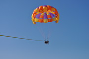 Amanda Just Metal Prints - A Day In The Sky Metal Print by Amanda Just