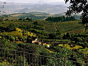 Tuscan Hills Prints - A Day In Tuscany Print by Ira Shander