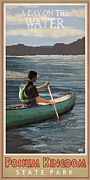 A Day On The Water Possum Kingdom Print by Jim Sanders