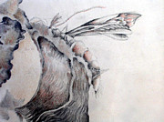 Subtle Drawings - A Delicacy by Rosanne Licciardi