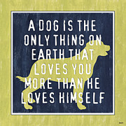 A Dog... Print by Debbie DeWitt