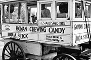 Kathleen K Parker - A Dollar a Stick Roman Chewing Candy in BW