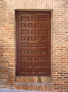 All Acrylic Prints - A Door in Toledo by Roberto Alamino