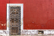 Blood Art - A Door to Remember in Merida by Mark Tisdale
