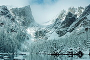 Winter Storm Photos - A Dream at Dream Lake by Eric Glaser