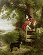 Pets Art Digital Art - A Dream Of The Future by William Powell Frith