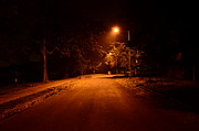 Street Photography Pyrography - A dreamy night and light by Debrup Chatterjee