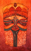 Nancy Jolley Art - A Face of Africa by Nancy Jolley