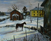 Jukka Nopsanen - A Farm in Winter