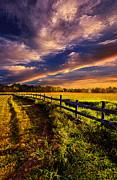 Phil Koch - A Fence Runs Through It