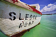 A Fishing Boat Named Sledge II Print by David Letts