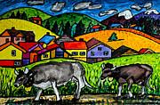 Monica Engeler - A Folksy Cow Hike