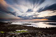 County Galway Framed Prints - A Galway Sunset Framed Print by Tim Drivas