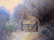 Landscape Photography - A Gate by Natalya Shvetsky