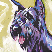 Giant Schnauzer Framed Prints - A Giant Framed Print by Lea