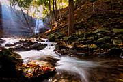 Barbara McMahon - A Glorious Autumn Morning By The Creek