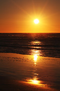 HJBH Photography - A golden sunset at the beach of Egmond aan Zee