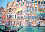 Teresa Dominici - A Gondolier on the Grand...