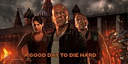 Movie Poster Prints Framed Prints - A Good Day to Die Hard  Framed Print by Movie Poster Prints