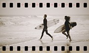 Alicegipsonphotographs Art - A Good Day To Surf by Alice Gipson