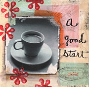 A Good Start Print by Linda Woods